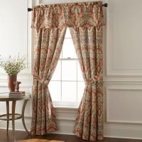 Rose Tree Harrogate Window Curtain Panels and Valance