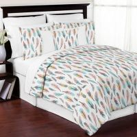 Kids Bedding Sets > Sweet Jojo Designs Feather 3-Piece ...