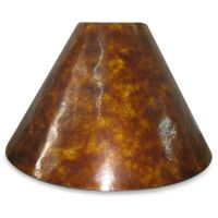 Mix & Match Large 18-Inch Mica Drum Lamp Shade in Bronze ...