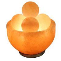 Himalayan Salt Bowl Lamp with Massage Stones - Bed Bath ...