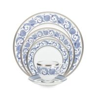 Noritake Sonnet in Blue Dinnerware Collection - Bed Bath ...