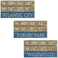 New Jersey Shore Town Framed Art Collection - Bed Bath ...