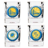 NBA Golden State Warriors Shot Glasses (Set of 4) - Bed ...