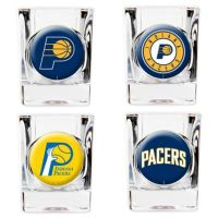 Buy NBA Indiana Pacers Shot Glasses (Set of 4) from Bed ...