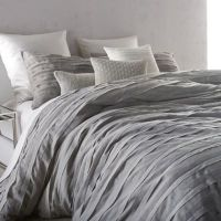 Buy DKNY Loft Stripe King Comforter Set in Grey from Bed ...