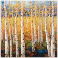 Birch Forest Canvas Wall Art - Bed Bath & Beyond