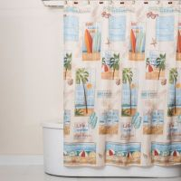 Beach Time Shower Curtain - Bed Bath & Beyond