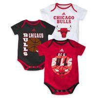 "Buy NBA Chicago Bulls ""3 Point Spread"" 3-Piece Bodysuit ..."