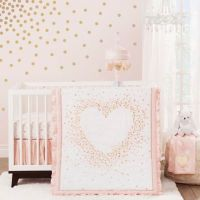 Lambs & Ivy Sweetheart Crib Bedding Collection - Bed Bath ...