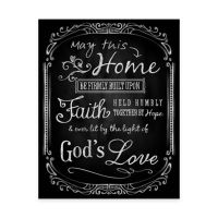 Lit by the Light of God's Love Canvas Wall Art - Bed Bath ...