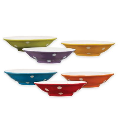Maxwell & Williams Sprinkle Dipping Bowls (Set of 6