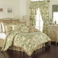 Waverly Garden Glory Reversible Comforter Set in Mist ...