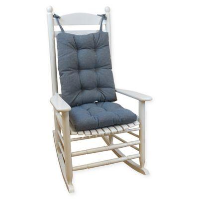 Buy Klear Vu Gripperr Saturn Rocking Chair Pad Set In Blue