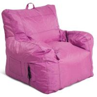 Buy Small Arm Chair Bean Bag Chair in Pink from Bed Bath ...
