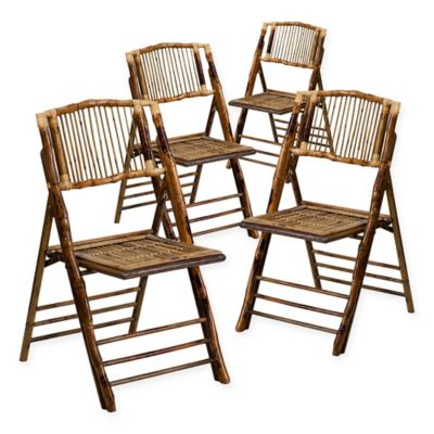 Buy Flash Furniture Bamboo American Champion Folding