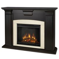 Buy Real Flame Adelaide Electric Fireplace in Black from ...