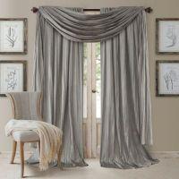 Elrene Athena Rod Pocket Window Curtain Panels and Scarf ...