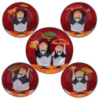 Certified International Waiters 5-Piece Pasta Bowl Set ...