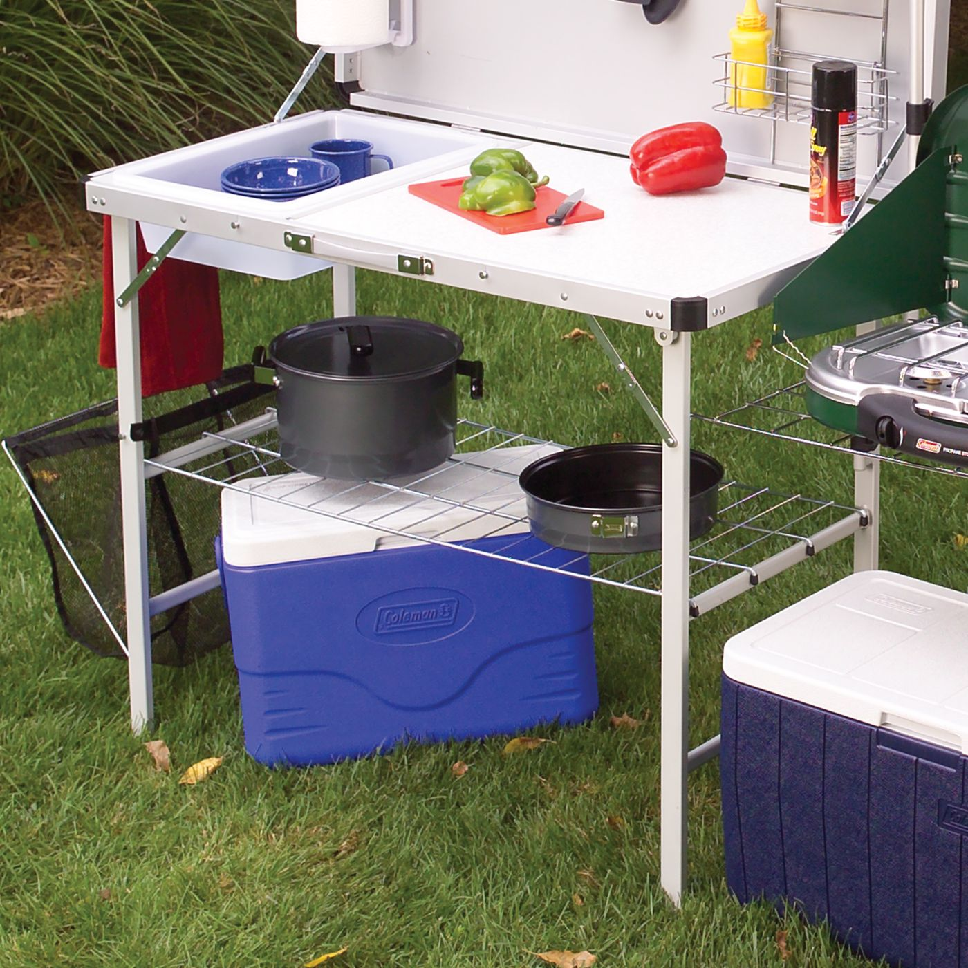 Coleman Outdoor Küche Pack Away Deluxe Kitchen Coleman