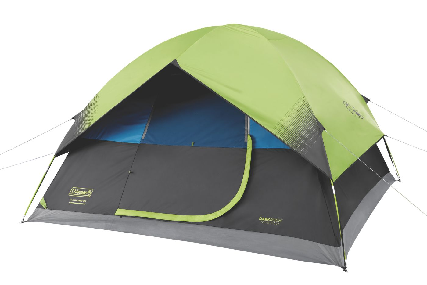1 Persoons Pop Up Tent 6 Person Dark Room Sundome Tent Coleman