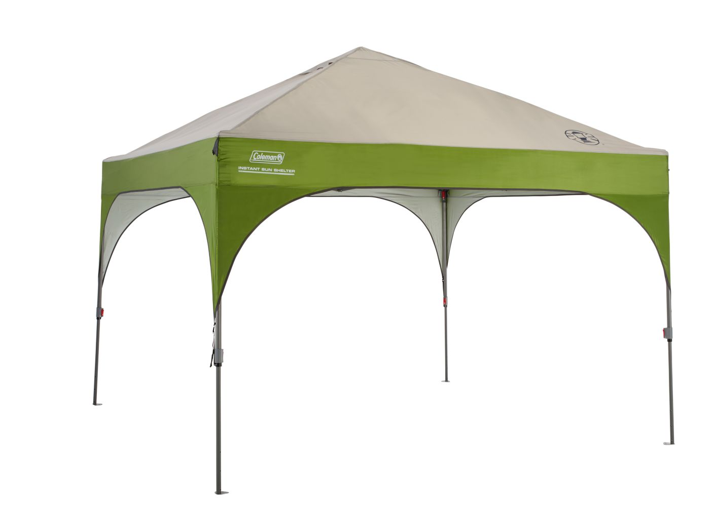 Pop Up Sun Shelter Canada Shelter Repair Canopy Straight 10 X 10 Coleman
