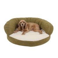 Carolina Pet Company Sage Green Orthopedic Bolster ...