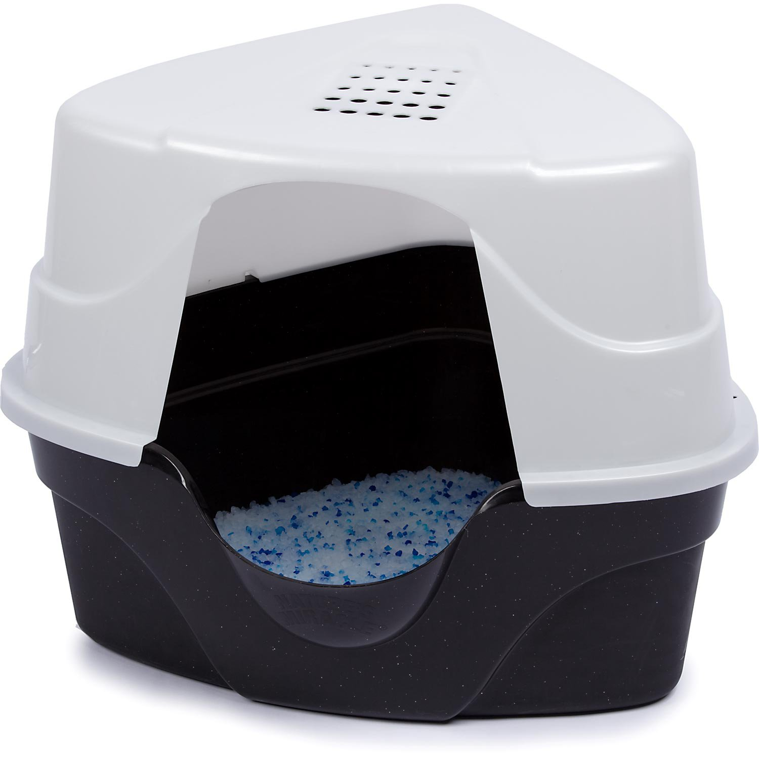 Nature39s Miracle Advanced Corner Hooded Cat Litter Box Petco