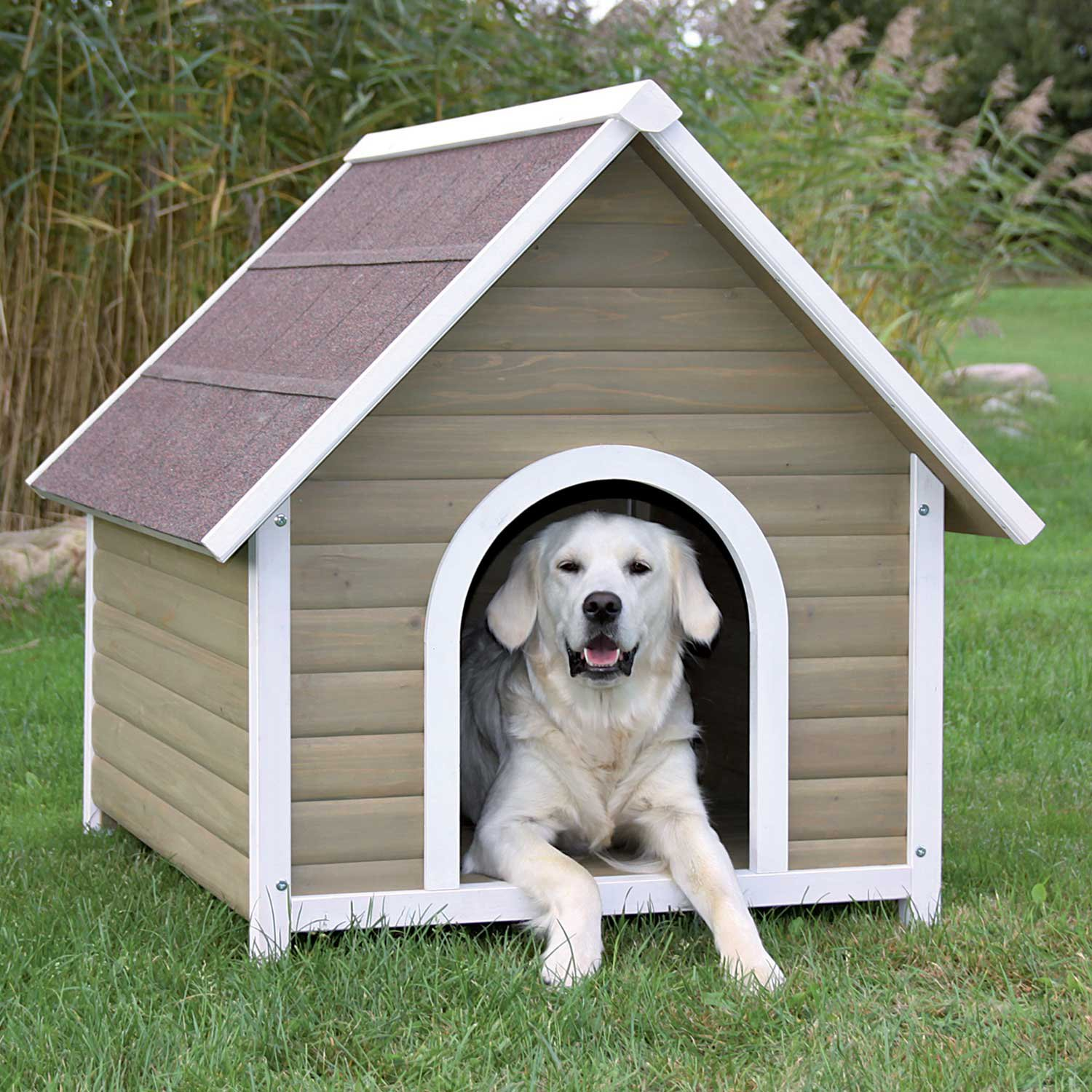Dog House Trixie Natura Nantucket Dog House Petco