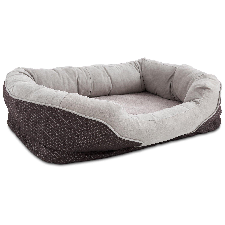 Orthopedic Peaceful Nester Gray Dog Bed Petco
