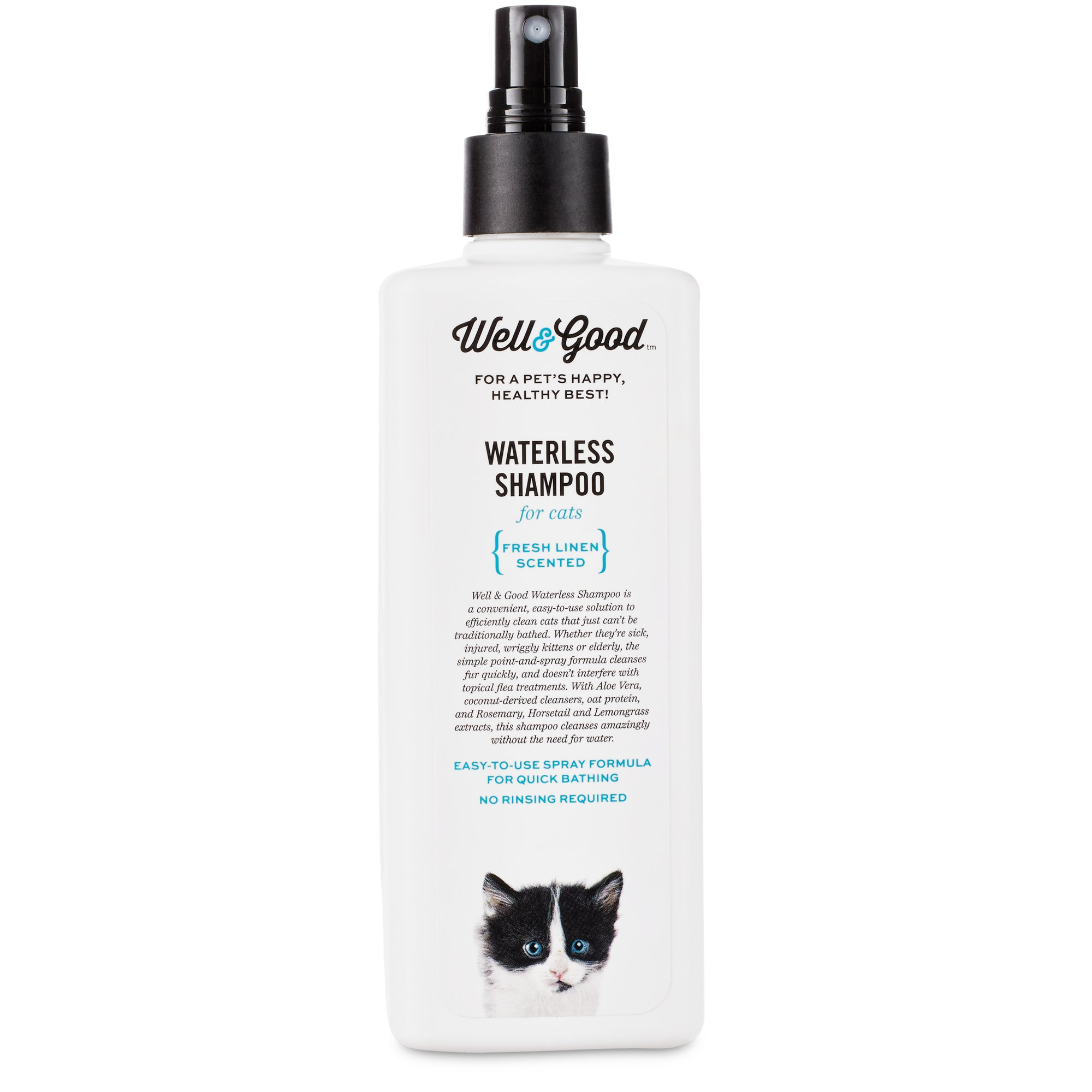 Well Shampoo Check Out Well Good Waterless Cat Shampoo Shopyourway