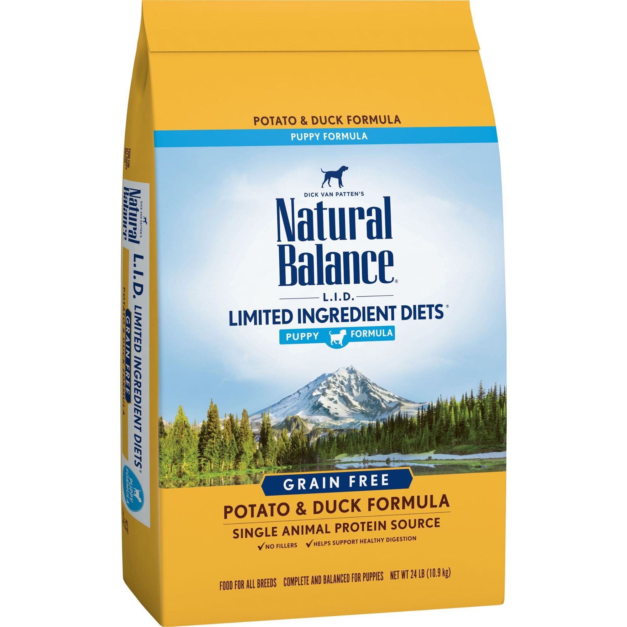 30 Liter Emmer Natural Balance L I D Limited Ingredient Diets Potato Duck Puppy Formula Dry Dog Food Petco