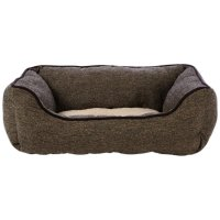 Harmony Nester Dog Bed in Brown Tweed | Petco