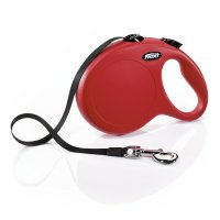 Flexi Classic Retractable Dog Leash in Red, 26' | Petco