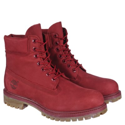 Timberland 6 In Prem Men39s Red Casual Lace Up Boots