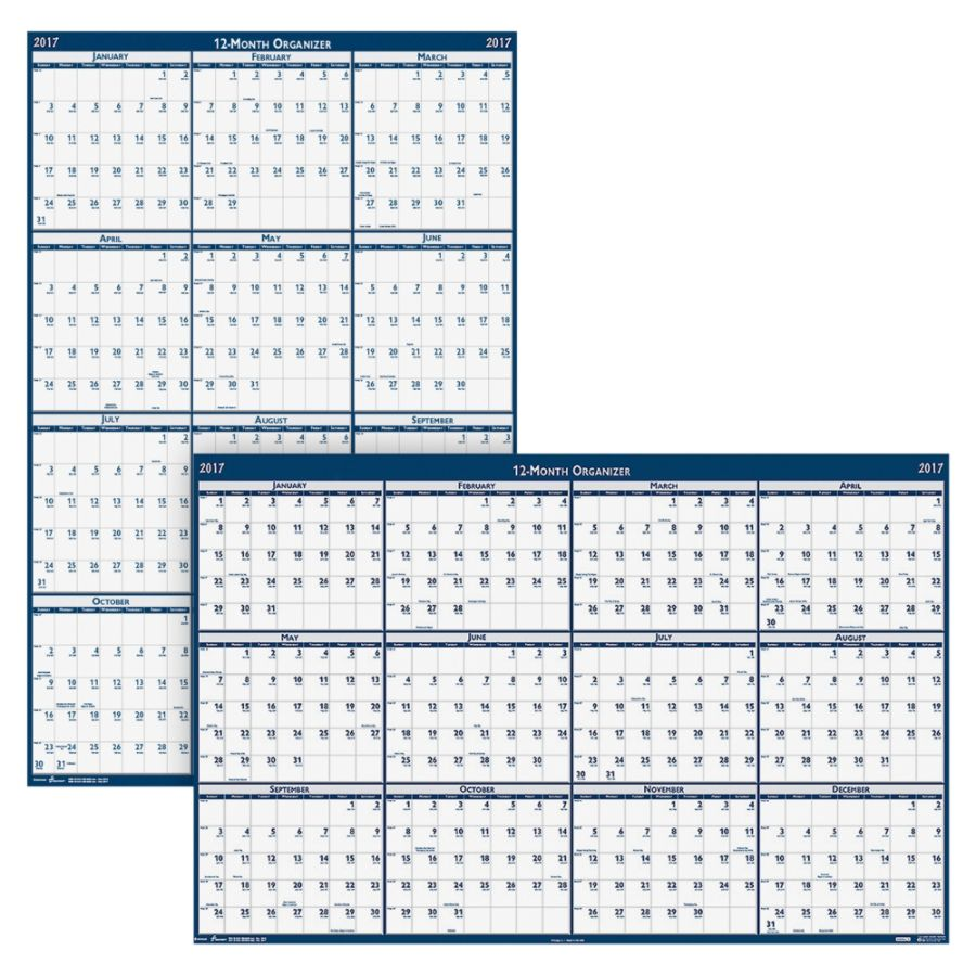 First Year Calendar Erasable At A Glance Academicregular Erasable Wall Calendar 24 X 36 Erasable Yearly Wall Calendar 24 X 37 White January To