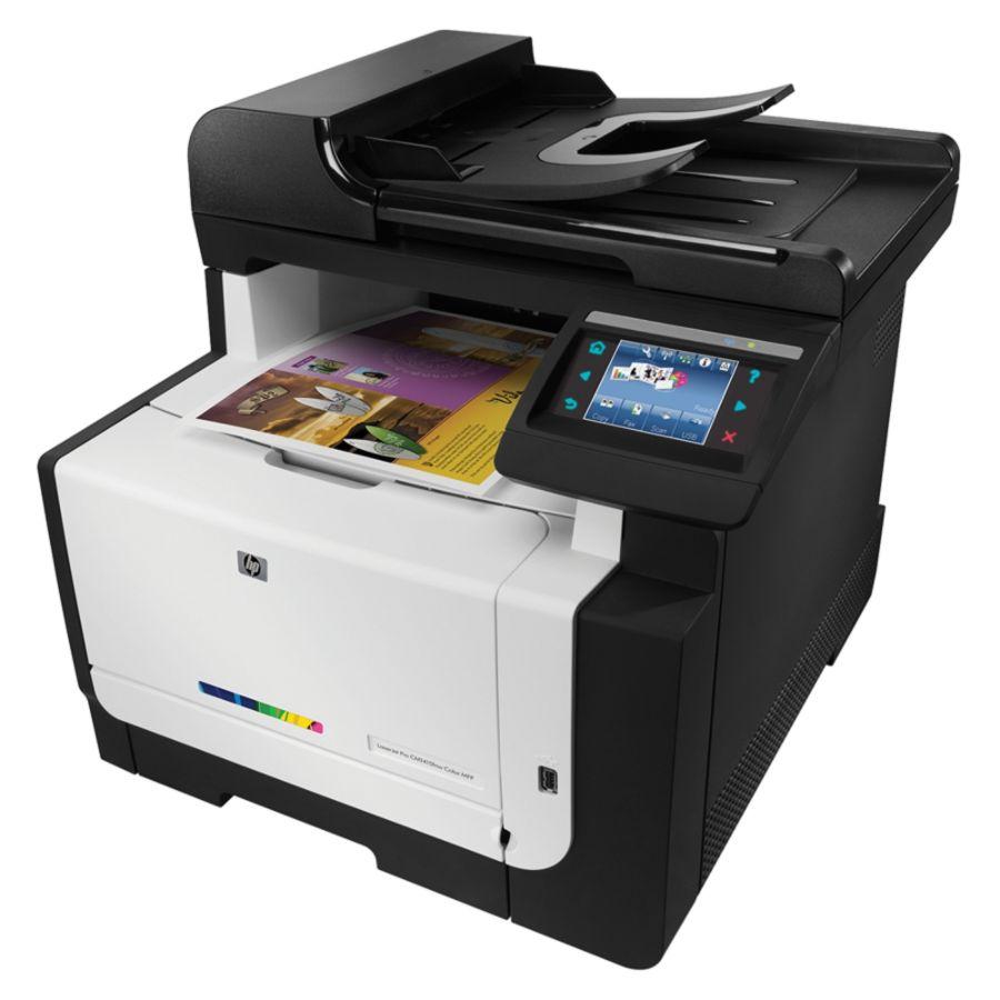 Desk Calendars Office Depot  Hp Laserjet Pro Cm1415fnw Color All In One Printer Copier