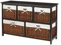 Realspace Wood Storage Cabinet 2 Shelves Black by Office ...