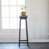 Protected Teak Plant Stand, Tall | Terrain