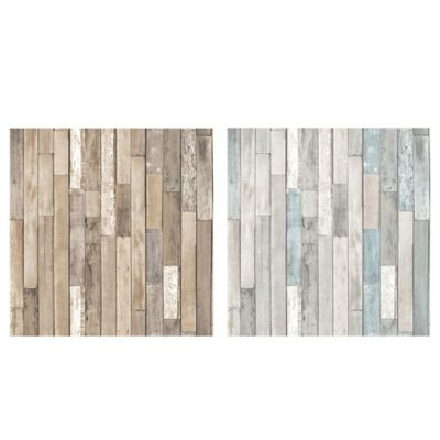 Brewster Home Fashions Barn Board Thin Plank Wallpaper ...