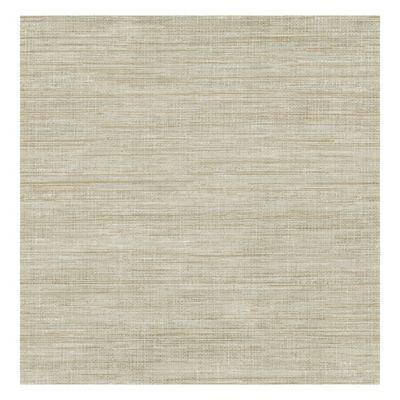 Grasscloth Wallpaper in Woven Beige - Bed Bath & Beyond