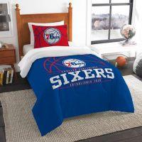 Buy NBA Philadelphia 76ers Twin Comforter Set from Bed ...