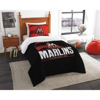 MLB Miami Marlins Grand Slam Comforter Set - Bed Bath & Beyond