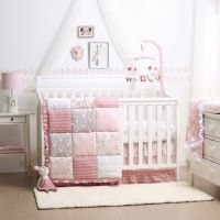 The Peanut Shell Woodland Whimsy 4-Piece Crib Bedding Set ...