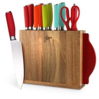 Buy Fiesta 12-Piece Multicolor Mixed Knife Block Set from ...