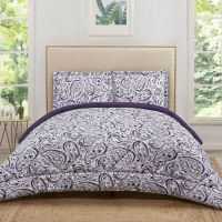 Buy Truly Soft Watercolor Paisley Reversible Full/Queen ...