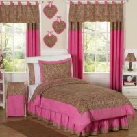 Sweet Jojo Designs Cheetah Girl Bedding Collection ...