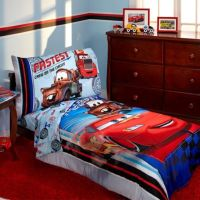 Disney Cars Fastest Team 4-Piece Toddler Bedding Set ...