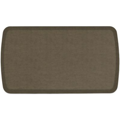 Gelpror Elite Vintage Leather Comfort Floor Mat Bed Bath