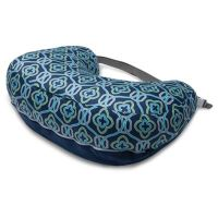 Boppy 2-Sided Breastfeeding Pillow in Royal Navy - buybuy ...