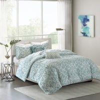 Madison Park Pure Elena 5-Piece Reversible Comforter Set ...